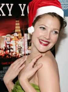 Drew-Barrymore-Christmas